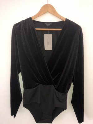 Zara Woman Wraparound Shirt black
