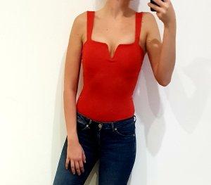 Bershka Shirtbody rood
