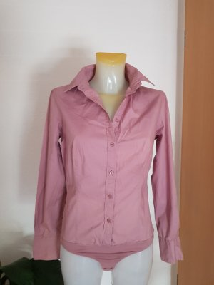 Sisley Blusa tipo body rosa empolvado