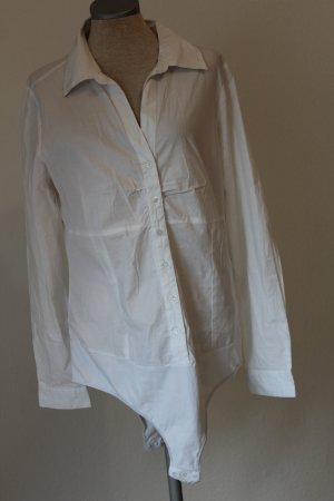 Blusa tipo body blanco Algodón