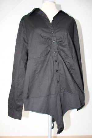 Blusa tipo body negro Algodón