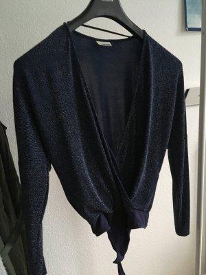 Noisy May Shirt Body dark blue-blue