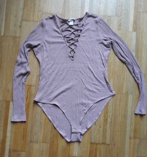 H&M Shirt Body dusky pink