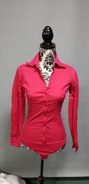 Vero Moda Chemisier body rouge framboise