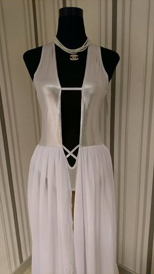 Set lingerie bianco Tessuto misto