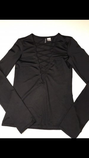 H&M Divided Shirt Body black