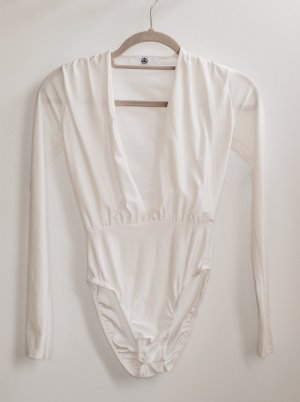 Missguided Shirt Body white