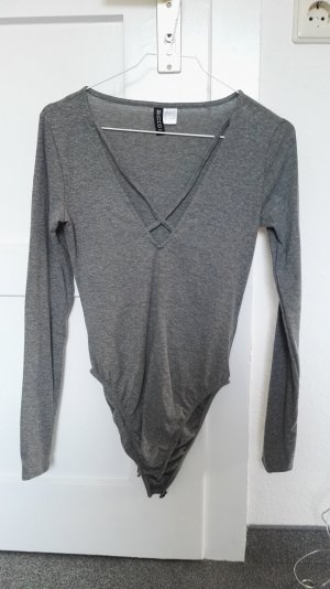 H&M Shirt Body grey