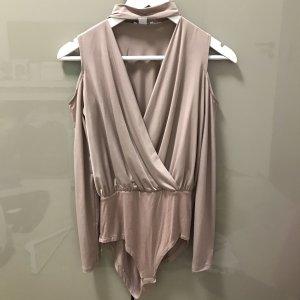 Amisu Bodysuit Blouse rose-gold-coloured