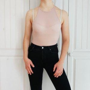 Body Rosa H&M XS Pink Top T-Shirt Tshirt Shirt Bluse Hemd Croptop Tanktop Pulli Pullover