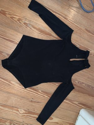 Cut Out Top black