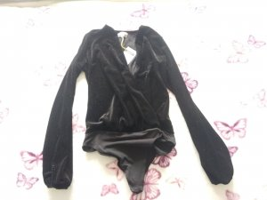 YES OR NO Bodysuit Blouse black