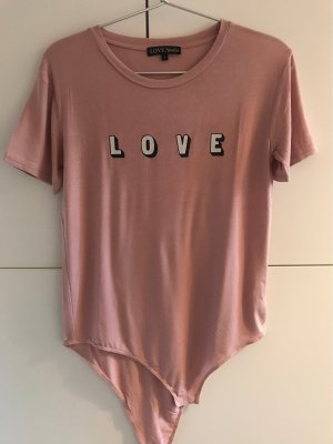 Love Shirt Body rose-gold-coloured-pink