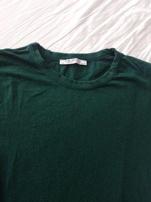 Zara Shirt Body petrol-forest green
