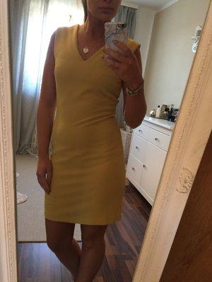 Bodycon dress in Gelb