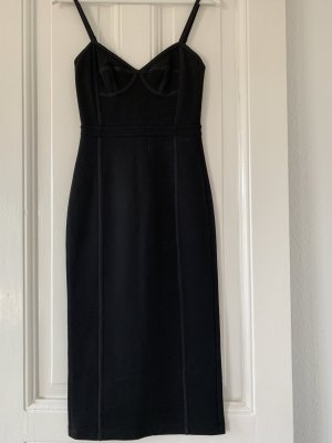 Alexander Wang Corsage Dress black viscose