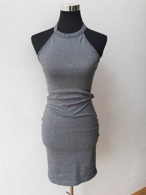 Bodycon Grau Kleid Zara Trafaluc Gr. S