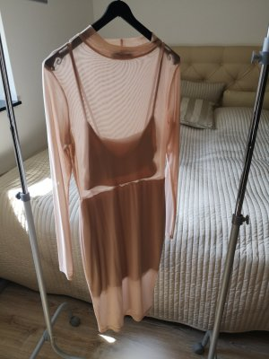 Missguided Stretch Dress nude