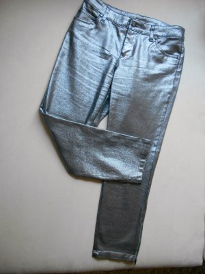 Bodyflirt 5 Pocket Jeans Silber