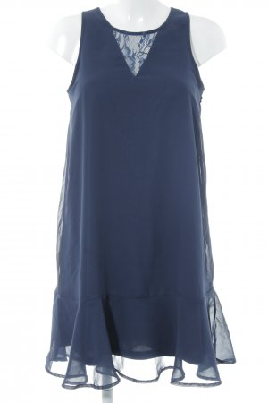 Bodyflirt A-lijn jurk donkerblauw elegant