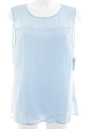 Bodyflirt ärmellose Bluse himmelblau Elegant