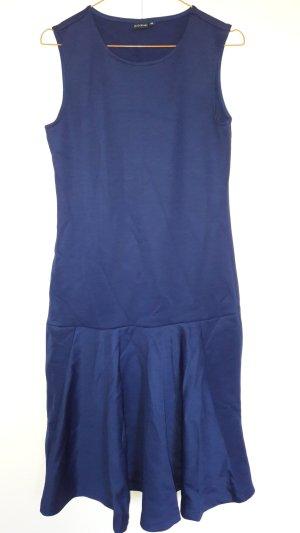 Bodyflirt ärmelloses Kleid mit tiefer Taille Jersey blau Gr. 36/38