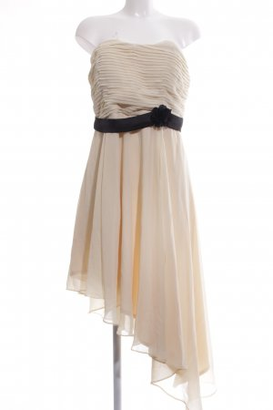 Bodyflirt Vestido bandeau blanco puro elegante
