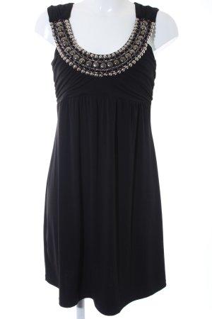 Bodyflirt Cocktailkleid schwarz-silberfarben Elegant
