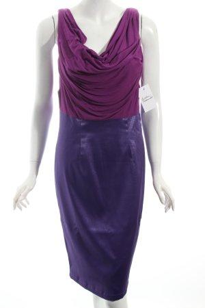 Bodyflirt Cocktailkleid violett-blauviolett Elegant