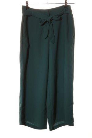 Bodyflirt Pantalone culotte verde stile casual