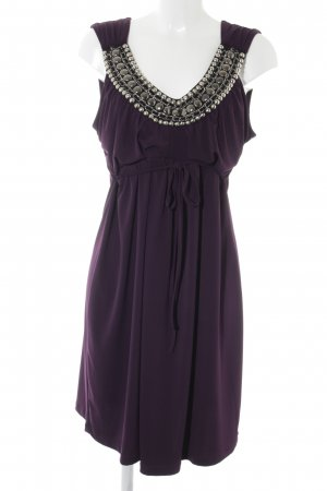 Bodyflirt Empire Dress dark violet elegant