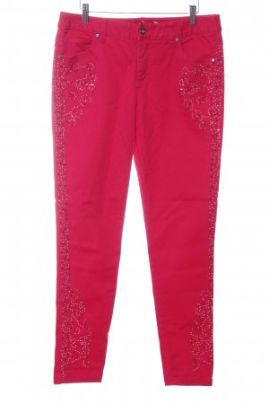 Bodyflirt Pantalón de cinco bolsillos rojo look casual