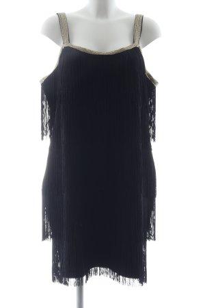 Bodyflirt Fringed Dress black party style