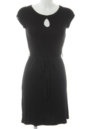 Bodyflirt Jerseykleid schwarz Casual-Look