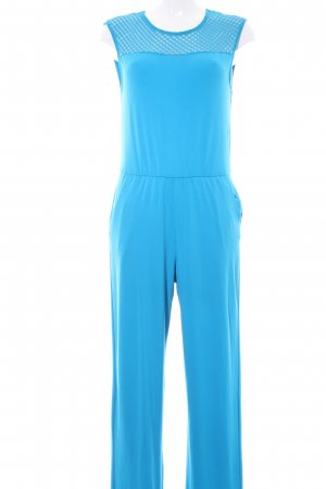 Bodyflirt Jumpsuit neonblau Urban-Look