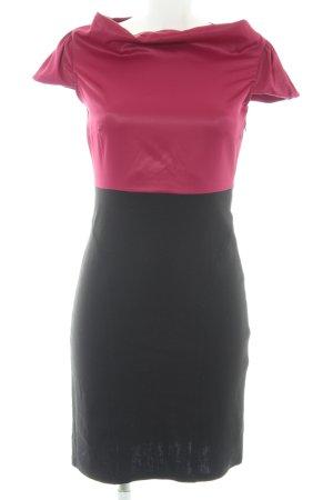 Bodyflirt Jurk met korte mouwen zwart-paars feest stijl