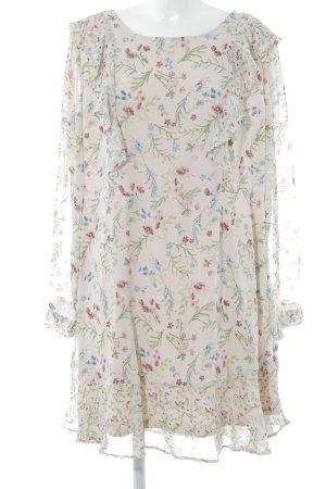 Bodyflirt Jurk met lange mouwen bloemenprint romantische stijl