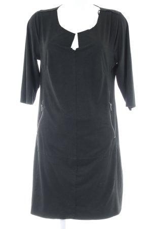Bodyflirt Midi-jurk zwart simpele stijl