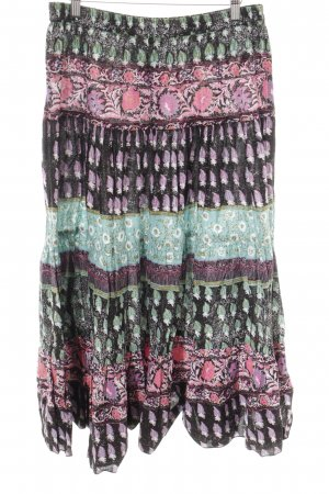 Bodyflirt Midi-rok abstract patroon casual uitstraling
