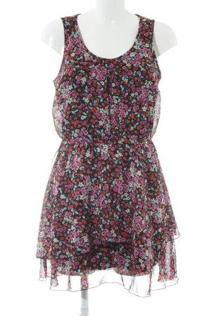 Bodyflirt Mini-jurk bloemenprint casual uitstraling