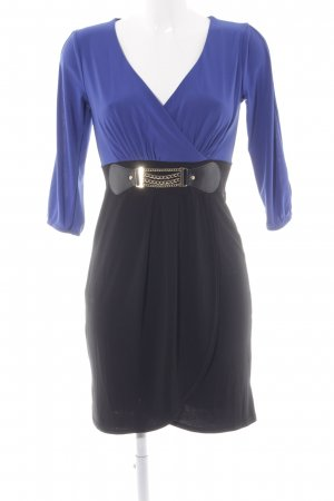 Bodyflirt Minikleid schwarz-blau Party-Look