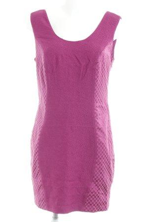 Bodyflirt Mini-jurk violet gestippeld patroon elegant