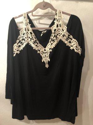 Bodyflirt Carmen shirt zwart-room