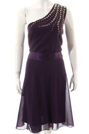 Bodyflirt One-Shoulder-Kleid lila Elegant