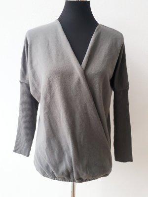 Bodyflirt V-halstrui lichtgrijs-grijs Polyester