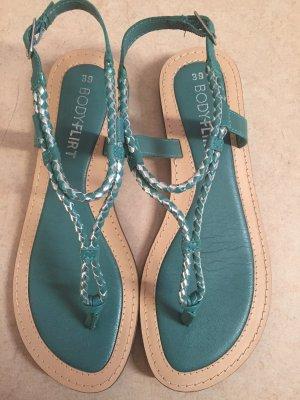 Bodyflirt Flip-Flop Sandals turquoise