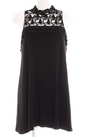 Bodyflirt Spitzenkleid schwarz abstraktes Muster Elegant