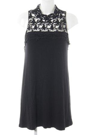 Bodyflirt Kanten jurk zwart abstract patroon elegant