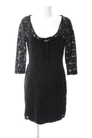 Bodyflirt Spitzenkleid schwarz Elegant