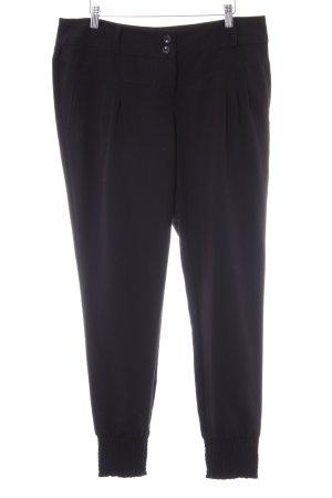 Bodyflirt Stoffen broek zwart zakelijke stijl